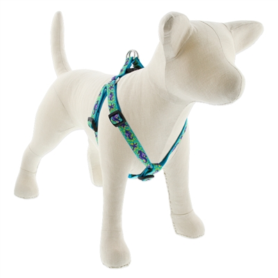 "Lupine 3/4"" Sea Ponies 20-30"" Step-in Harness - Medium Dog LIMITED EDITION"