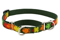 "Retired Lupine 3/4"" Sugar Bush 10-14"" Martingale Training Collar - Medium Dog"