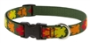 "Lupine Sugar Bush 9-14"" Adjustable Collar - Medium Dog LIMITED EDITION"