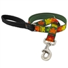 "Retired Lupine 1"" Sugar Bush 4' Long Padded Handle Leash"