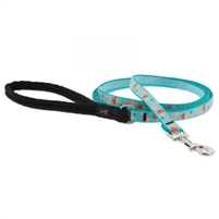 "Lupine 1/2"" Summer Treat 4' Padded Handle Leash"