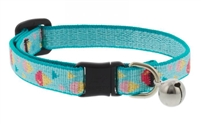 "Retired Lupine 1/2"" Summer Treat Cat Safety Collar with Bell"