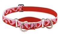 "Lupine 1"" Sweetheart 15-22"" Martingale Training Collar"