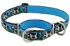 "Retired Lupine 1"" Udderly Cows 15-22"" Combo/Martingale Training Collar - Large Dog"