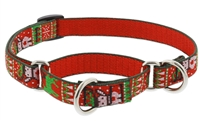 "Retired Lupine 3/4"" Ugly Sweater 10-14"" Martingale Training Collar"