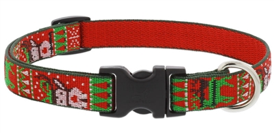 "Retired Lupine 3/4"" Ugly Sweater 13-22"" Adjustable Collar"