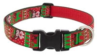 "Lupine 1"" Ugly Sweater 16-28"" Adjustable Collar"