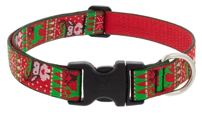 "Retired Lupine 1"" Ugly Sweater 16-28"" Adjustable Collar"