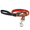 "Lupine 3/4"" Ugly Sweater 6' Padded Handle Leash"