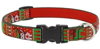 "Retired Lupine 3/4"" Ugly Sweater 9-14"" Adjustable Collar"