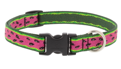 "Retired Lupine 3/4"" Watermelon 13-22"" Adjustable Collar MicroBatch"