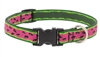 "Lupine 3/4"" Watermelon 15-25"" Adjustable Collar - MicroBatch"