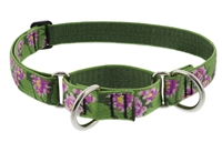 "Lupine 1"" Water Lilies 15-22"" Martingale Training Collar"
