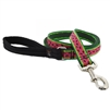 "Lupine 1"" Watermelon 4' Long Padded Handle Leash"