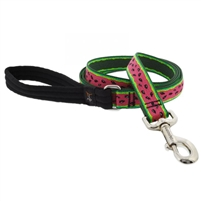 "Lupine 1"" Watermelon 6' Long Padded Handle Leash"