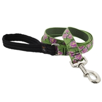 "Lupine 1"" Water Lilies 4' Long Padded Handle Leash"