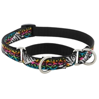 "Lupine 3/4"" Wild Side 10-14"" Combo/Martingale Training Collar - Medium Dog LIMITED EDITION"