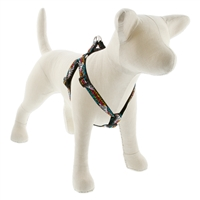 "Lupine 3/4"" Wild Side 15-21"" Step-in Harness - Medium Dog LIMITED EDITION"
