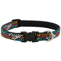 "Lupine 3/4"" Wild Side 15-25"" Adjustable Collar - Medium Dog LIMITED EDITION"