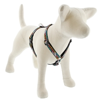 "Lupine 3/4"" Wild Side 20-32"" Roman Harness - Medium Dog"
