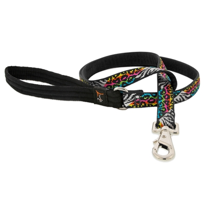 "Retired Lupine 3/4"" Wild Side 6' Padded Handle Leash"