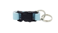 Leather Brothers Klip-It Pet Tag Connector - Baby Blue