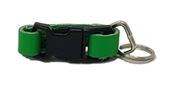Leather Brothers Klip-It Pet Tag Connector - Emerald Green
