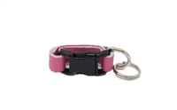 Leather Brothers Klip-It Pet Tag Connector - Pink