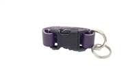 Leather Brothers Klip-It Pet Tag Connector - Purple