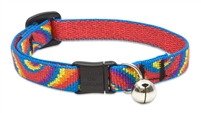"Lupine 1/2"" Lollipop Cat Safety Collar with Bell"