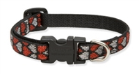"Retired Lupine 1/2"" Love Struck 6-9"" Adjustable Collar"