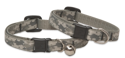"Retired Lupine 1/2"" ACU (Army Combat Uniform) Cat Collar with Bell"