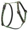 "Retired Lupine Black Cherry 9-14"" Roman Harness - Small Dog"
