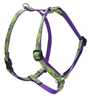 "Retired LupinePet Big Easy 12-20"" Roman Harness - Small Dog"