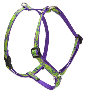 "Retired Lupine 1/2"" Big Easy 9-14"" Roman Harness"