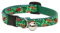 "Retired Lupine 1/2"" Beetlemania Cat Safety Collar with Bell"