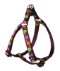 "Retired LupinePet Candy Apple 10-13"" Step-in Harness - Small Dog"