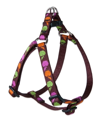 "Retired Lupine Candy Apple 12-18"" Step-in Harness - Small Dog"