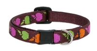 "Retired Lupine 1/2"" Candy Apple Cat Safety Collar"