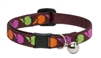 Retired Lupine Candy Apple Cat Collar with Bell