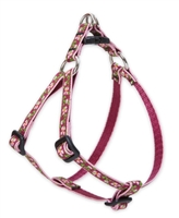 "Retired Lupine Cherry Blossom 10-13"" Step-in Harness - Small Dog"