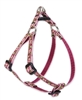 "Retired Lupine Cherry Blossom 12-18"" Step-in Harness - Small Dog"
