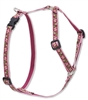 "Lupine Retired Cherry Blossom 12-20"" Roman Harness"