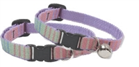 "Retired Lupine 1/2"" Cotton Candy Cat Safety Collar"