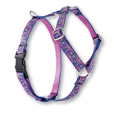 "Retired LupinePet Flutterby 9-14"" Roman Harness - Small Dog"