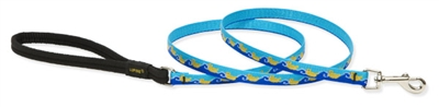 "Retired Lupine 1/2"" Just Ducky 6' Padded Handle Leash"