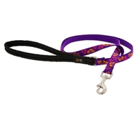 "Retired Lupine 1/2"" Aloha 6' Padded Handle Leash - Small Dog or Cat"