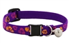 "Retired Lupine 1/2"" Aloha Cat Collar with Bell"
