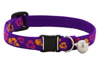 "Retired LupinePet 1/2"" Aloha Cat Collar with Bell"