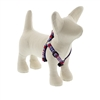 "LupinePet 1/2"" America 12-18"" Step-in Harness - Small Dog MicroBatch"